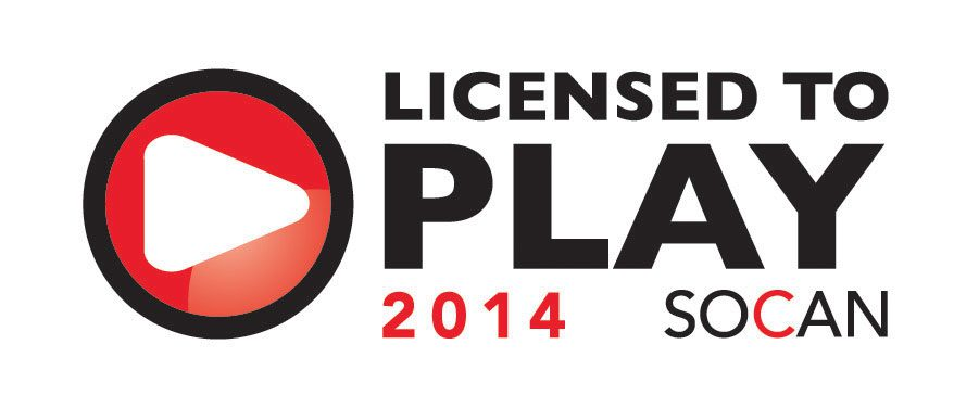 SOCAN - Licensed to Play