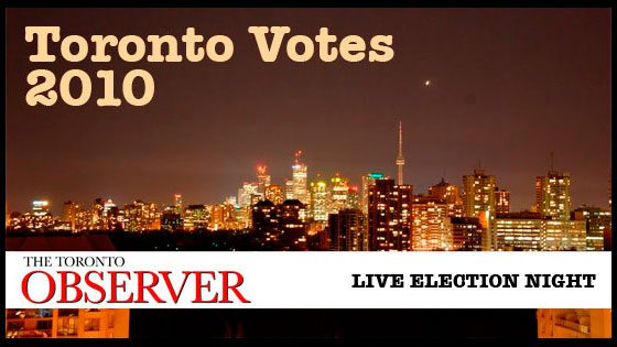 Toronto Votes 2010: 10 p.m. election update