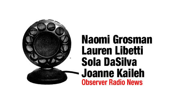 Observer Radio News for April 4, 2013
