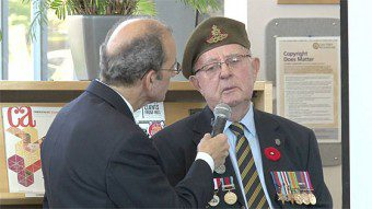 Remembrance Day Observance 2014
