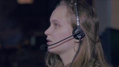 TV production crew member