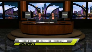 Renee Allen and Melisha Ratnarajah